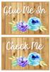 Rustic Chic Editable Classroom Labels