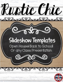 Rustic Chic Slideshow Template