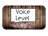 Rustic Chic Voice Level