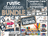 Rustic Classroom Decor BUNDLE