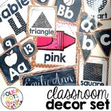 Rustic Classroom Decor