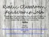 Rustic Classroom Leadership Jobs
