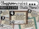Rustic Classroom Rules