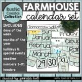 Rustic Coastal Calendar Set