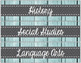 EDITABLE Sterilite Drawer Labels (Rustic Coastal)