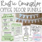 Rustic Farmhouse Counselor Office Decor