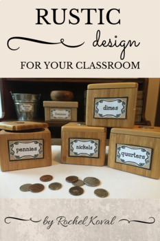 Rustic Decor for the Classroom