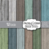 Rustic Distressed Wood Background 1088
