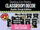 Rustic Emoji Classroom Decor BUNDLE