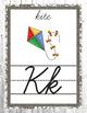 Rustic Farmhouse Alphabet Posters Cursive- Classroom Decor