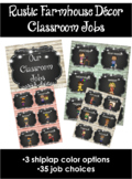 Rustic Farmhouse Classroom Jobs