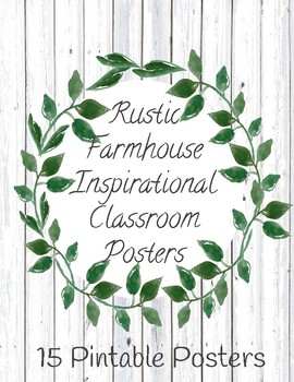Farmhouse Inspirational Posters