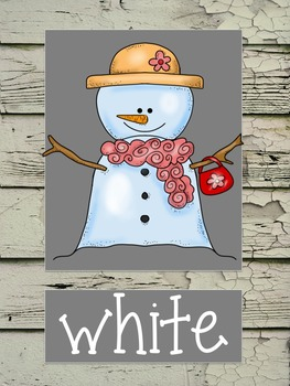 Rustic Farmhouse Color Posters