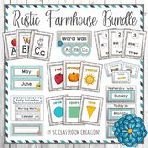Rustic Farmhouse Classroom Decor Bundle