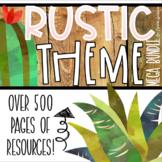Rustic Farmhouse Shabby Chic Classroom Decorations and Management Mega Bundle