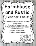 Rustic Farmhouse Themed Teaching Tools