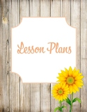 Rustic Floral Binder Covers