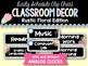 Rustic Floral Classroom Decor BUNDLE