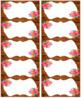 Rustic Floral Labels