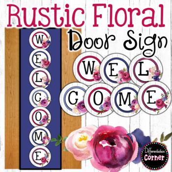 Farmhouse Classroom Decor Welcome Banner
