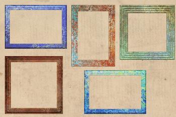 Rustic Frames Clipart