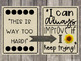 Rustic Growth Mindset Posters - 6 Different Styles