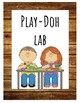 Rustic Learning Lab/Center Signs