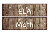 Rustic Learning Target Subject Labels