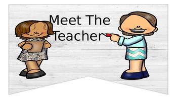Rustic Meet the Teacher