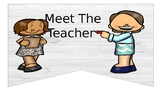 Rustic Meet the Teacher