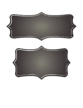 Rustic Nameplates