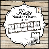 Rustic Number Charts 0-20