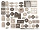 Rustic Planner Stickers