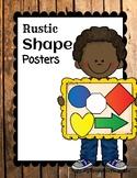 Shapes Poster Set {Rustic}