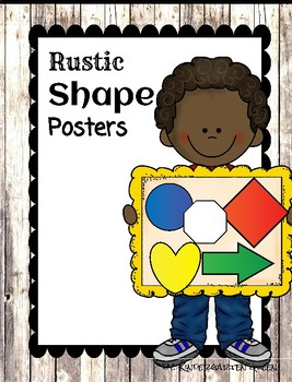 Shapes Poster {Rustic}
