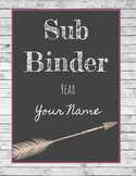 Rustic Theme Binder Covers