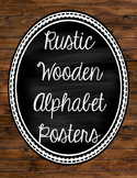 Rustic Wood Alphabet
