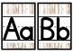 Rustic Wood Alphabet Line