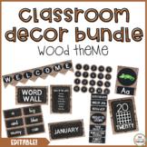 Rustic Wood Decor Pack