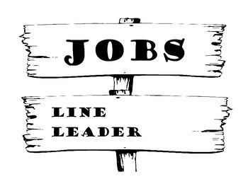 """Rustic """"Wooden Posts"""" Job Signs"""