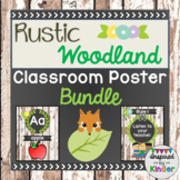 Rustic Woodland Animal Themed Classroom Decor {Bundle}
