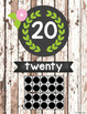 Rustic Woodland Number Posters {0-20}