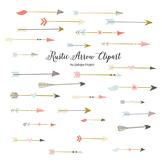 Rustic arrow clipart for scrapbooking, wedding invitation,
