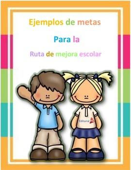 Ruta de Mejora Escolar Para Preescolar y Primaria E.D