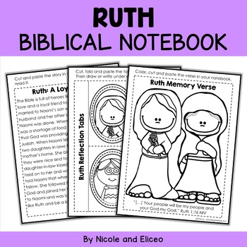 Bible Character Lessons - Ruth