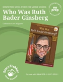 Ruth Bader Ginsburg - A Biography and Nonfiction Book Study
