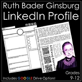 Ruth Bader Ginsburg LinkedIn Profile Assignment