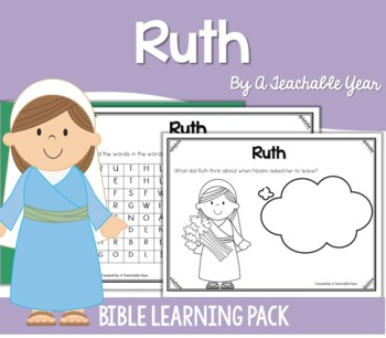 Ruth - Bible Lesson