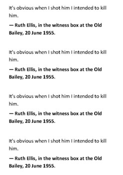 Ruth Ellis Handout