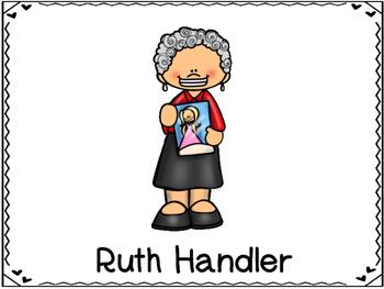 Ruth Handler Inventor (Barbie Doll)